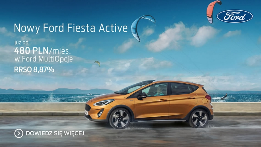 Nowy Ford Fiesta Active
